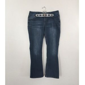 Maurices Bootcut Jeans, Size 18